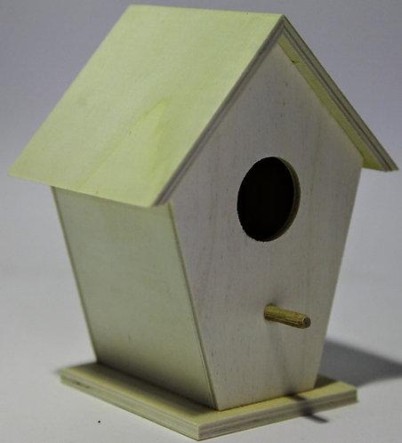 Casa pájaros inclinada 14x17x10