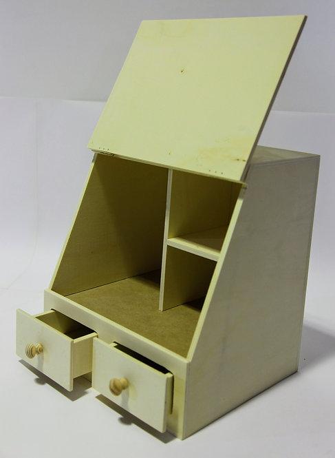 Caja multiusos 2 cajones 30x31x26