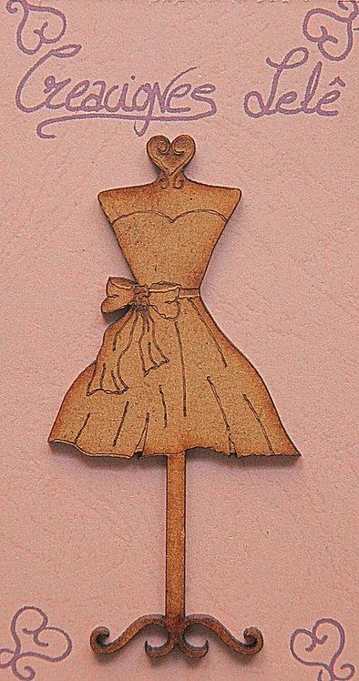Maniquí Vestido Pequeño