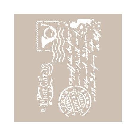 Stencil TIMBRE POSTAL 21x30