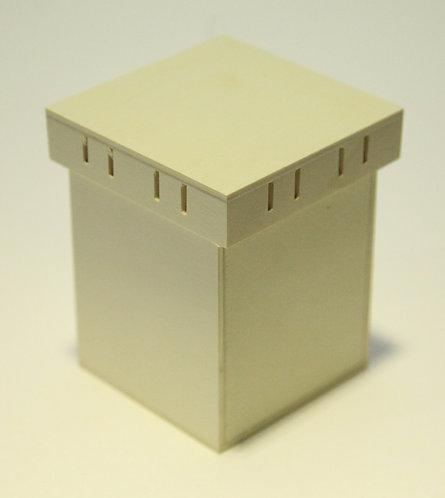 Caja con ranura para cintas C 11x13x11