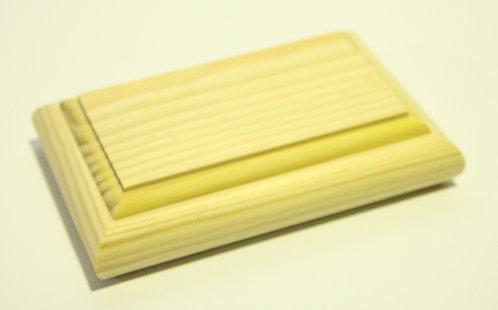 Caja joyero rectángular B 21x5x13,5