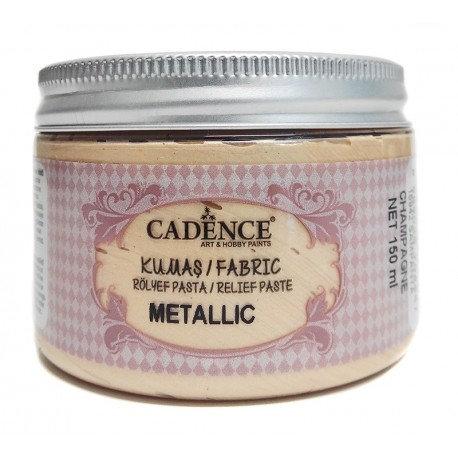 Pasta de Relieve Textil Metallic CHAMPAN 150ml.