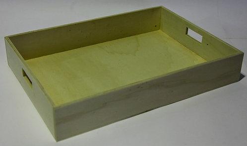 Bandeja rectángular recta B 50x8,5x36