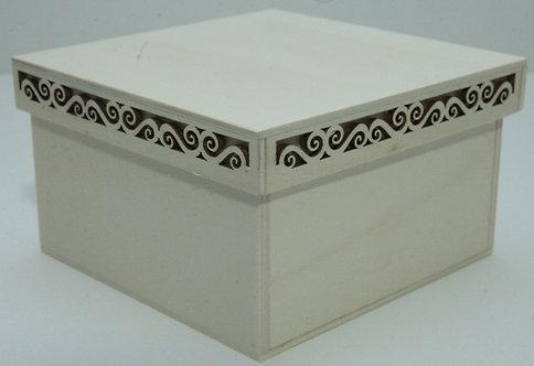 Caja tapa láser A 10x10x17
