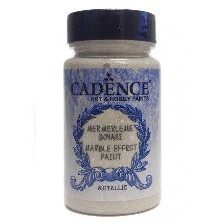 Efecto Mármol CREMA Metalizado 90ml. Marble Cadence