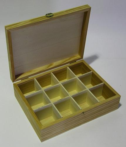 Caja 12 divisiones 30x9x23