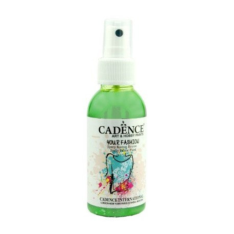 Spray Textil Cadence VERDE HIERBA 100ml.