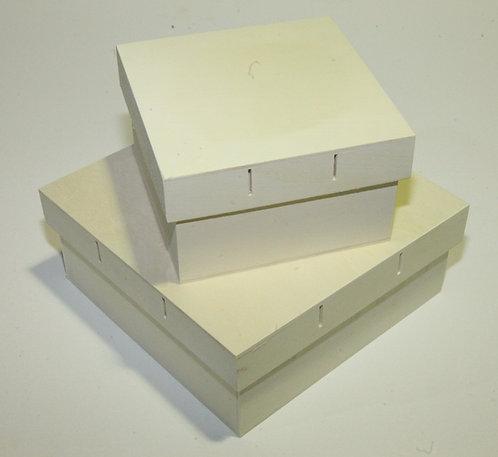 Juego 2 cajas con ranura para cintas B, C