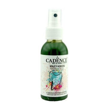 Spray Textil Cadence VERDE HOJA 100ml.
