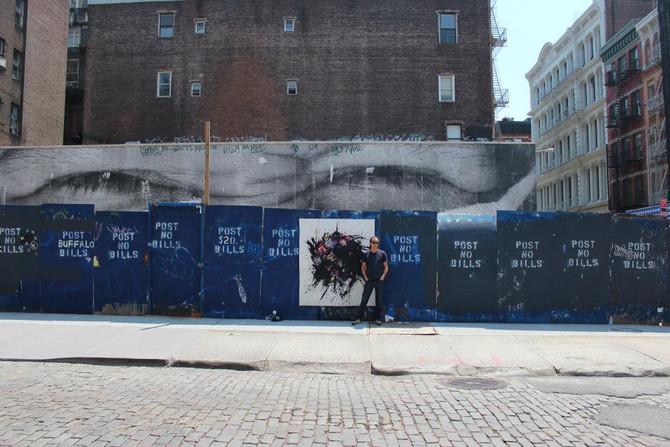 Graffiti running through the viens of TANC