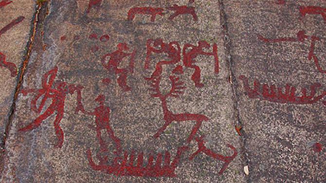 Public art 40 000 years ago