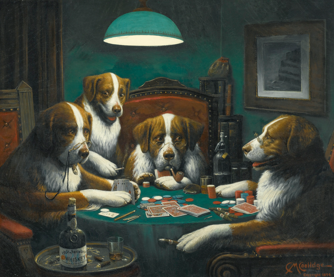 Inside the Enduring Legacy of Dogs Playing Poker