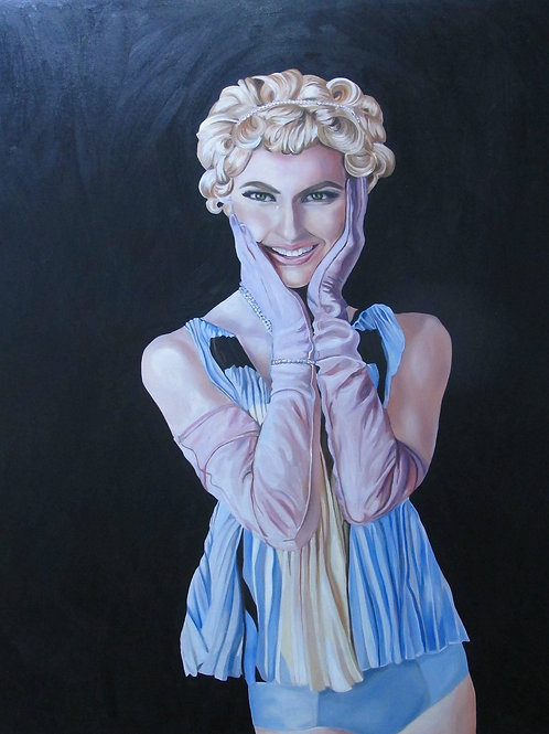 Self Portrait by Tali Lennox