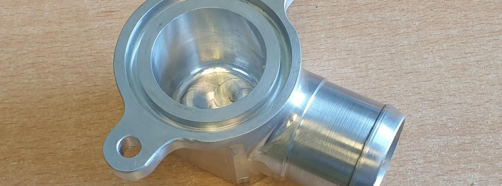 Engine coolant inlet