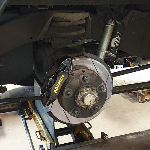 JE/AP Racing Brake Kit for Defender Rear Axle