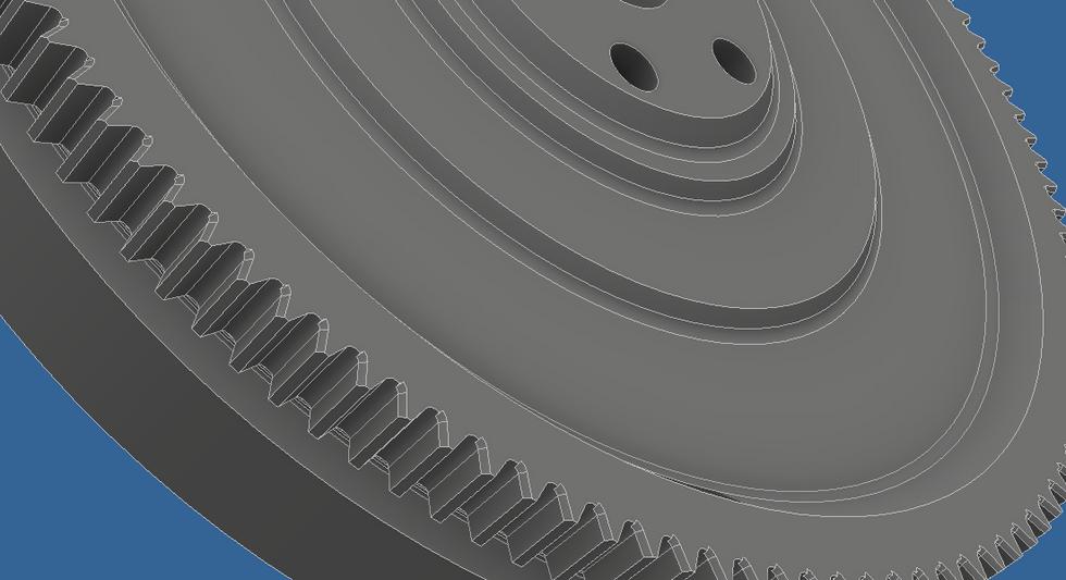 3D Model of flywheel