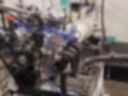 JE Engine on Dynamometer