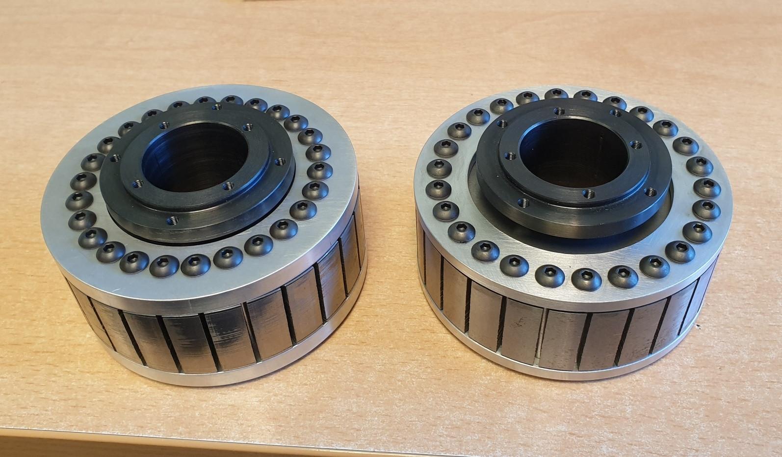 Electric motor rotor assemblies