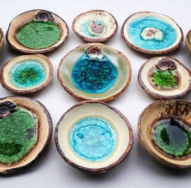 Rock pool ring dishes