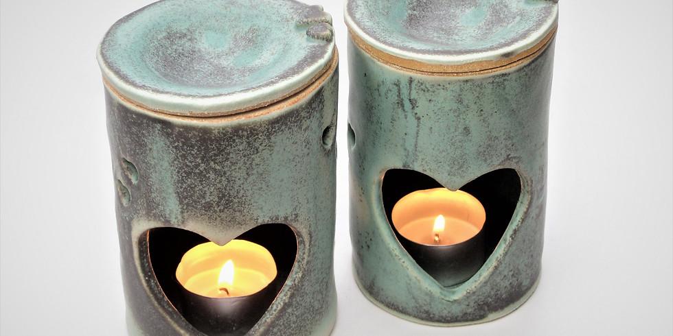 Pottery Workshop - make your own oil or wax burner