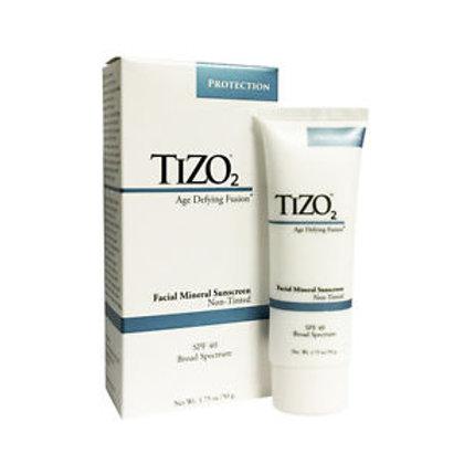 TiZO2 Facial Mineral Sunscreen - Non Tinted