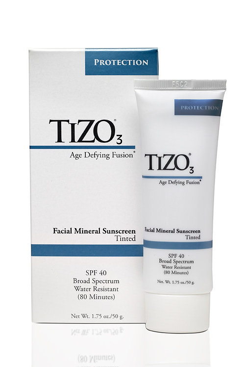 TiZO3 Facial Mineral Sunscreen - Tinted