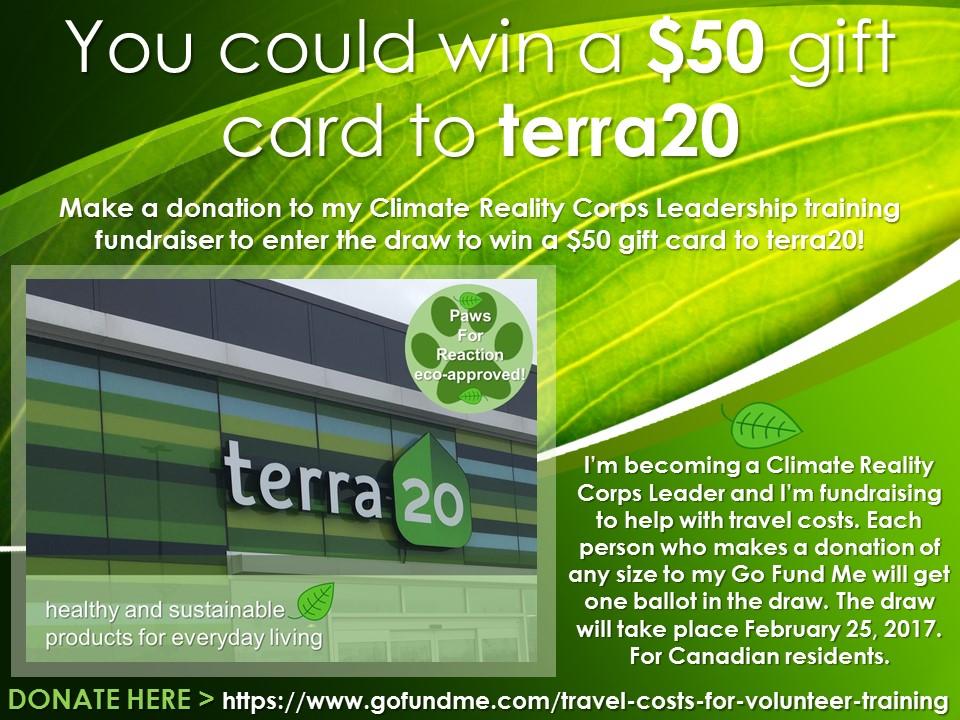 terra20 giveaway