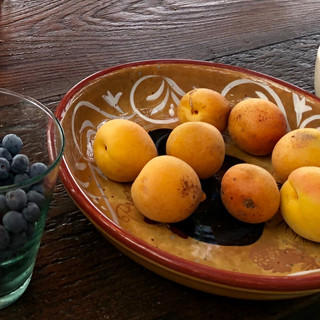 blueberries apricot