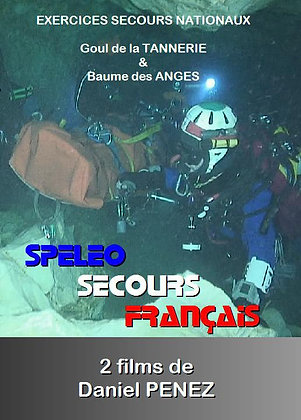 "DVD ""Exercices Spéléo Secours Plongée"" - Réf. Dvd1"