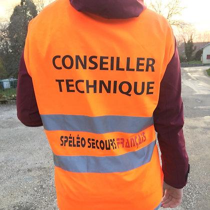 Chasuble pour Conseiller Technique SSF