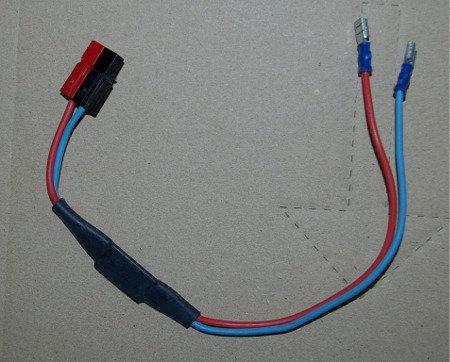 Câble d'alimentation pince + connectique TPS - Réf. Cab2