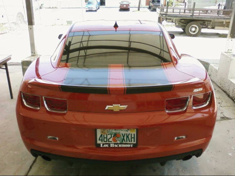 Camaro Racing Stripes3
