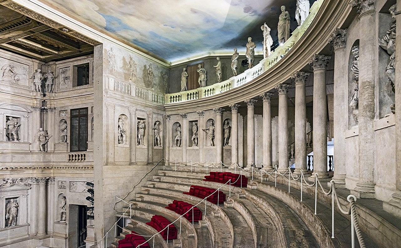 Concert at the Teatro Olimpico