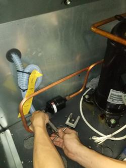 Repair CRAC unit