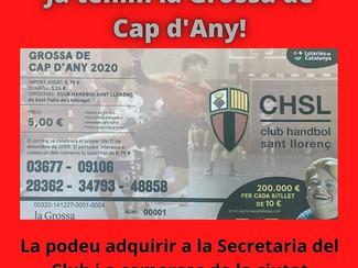 JA TENIM LA GROSSA DE CAP D'ANY 2020