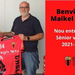 Benvingut Maikel Nuñez al CH Sant Llorenç