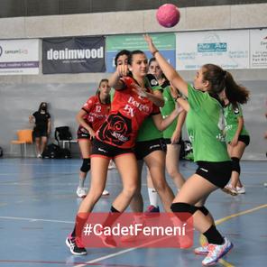 Primera Catalana Cadet Femení-1a Fase-E.28 Cadet Femení18 CH Ràpid Cornellá-B