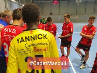 Segona Catalana Cadet Masculina-Fase Final del 9è al 16è lloc.28 Handbol Ègara-A16 Cadet Masculí N