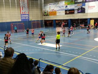 Handbol Sant Joan Despí C 25-29 Infantil Negre