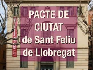 MANEL CARRION, REPRESENTANT DE L'ESPORT LOCAL AL PACTE DE CIUTAT.