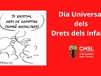 20 de novembre, DIA UNIVERSAL DELS DRETS DELS INFANTS