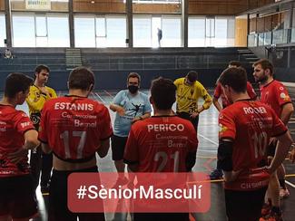 Copa Federació 1a Catalana Sènior Masculina-Final del 5è al 8è lloc.28 CH Lleida Pardinyes Negre24