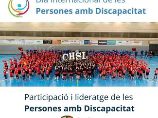 Dia Internacional de les persones amb discapacitat