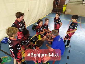 Campionat de Catalunya Benjamí-1a Fase-B6 CH Santpedor19 Benjamí Mixt