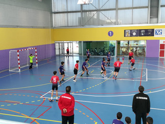 Club Handbol Castellbisbal 22 - 28 Infantil Masculí Negre