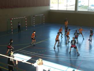 Handbol Santpedor 27-25 Infantil Negre