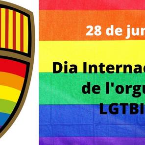 El Club Handbol Sant Llorenç celebrem el Dia Internacional de l'Orgull LGTBI