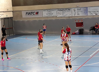 Cadet Femení 23-21 CH Sant Joan Despí C