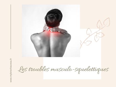 Les TMS ou troubles musculosquelettiques et l'importance des activités physiques
